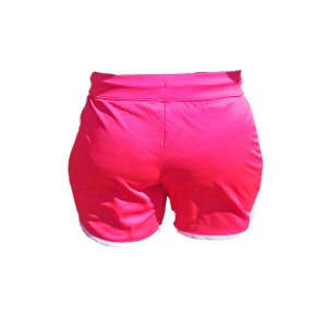 Mikasa Short Woman Fuchsia Fluo - Light Navy  L