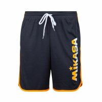 Mikasa Lupho Short Anthrazit - Orange Fluo L
