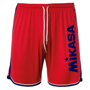 Mikasa Crystal Short Man Red - Navy L